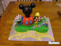 mickey mouse clubhouse birthday cake mickey mouse clubhouse huggies birthday cake gallery huggies