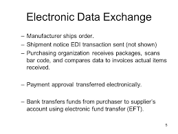 1 edi electronic data interchange what is edi u2013exchange of