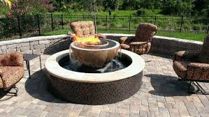 Fire Pit And Chair Set Fire Pit Table Set Predmore Fire Pit Table U0026 4 Chairs
