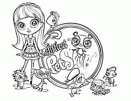my littlest pet shop coloring pages