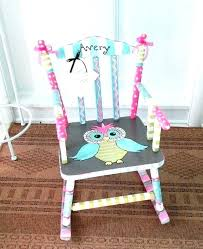 baby wooden rocking chair wooden rocking chair for child personalized rocking chair for baby little girl