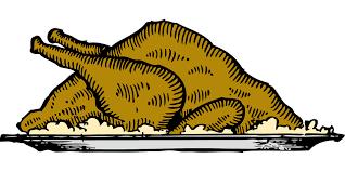 thanksgiving turkey platter turkey platter thanksgiving free vector graphic on pixabay