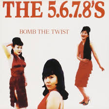 5 by 7 photo album the 5 6 7 8 s bomb the twist
