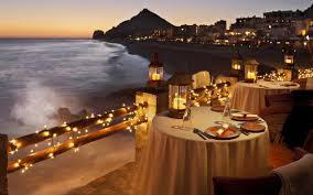 romantic table settings romantic table setting by the ocean