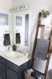 How To Choose An Accent Wall by Before And After Budget Bathroom Reno 2 Floral U2014 Sweet Sequels
