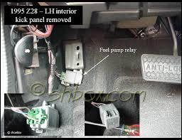 camaro fuel fuel relay test camaroz28 com message board