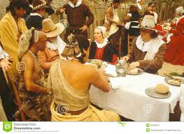 thanksgiving indians and pilgrims thanksgiving pilgrims and indians eps stock photos image 16211213