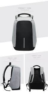 Small Charging Station by The Ultimate Traveler Anti Theft Backpack W Charging Station