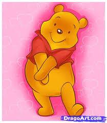 draw pooh step step disney characters cartoons draw