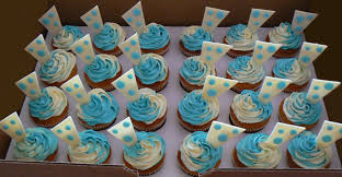 baby boy shower cupcakes cakes by twinnies polka dot baby shower cupcakes