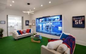 The Ultimate Game Room - booking com gives fans access to the ultimate game day home