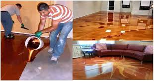 Epoxy Flooring Kitchen by Metallic Epoxy Floor For Shiny Moments At Home With Less Effort