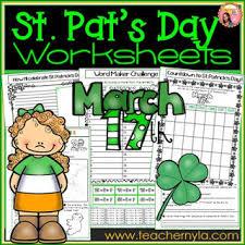 nyla u0027s crafty teaching st patrick u0027s day activities