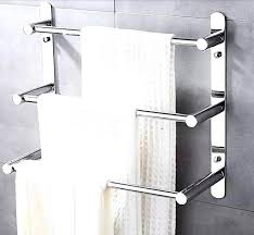Bathroom Towel Shelves Wall Mounted Staggering Steel Wall Mounted Towel Bar Bathroom Steel Towel Bar
