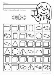 3d shapes printable worksheet this 2d and 3d shape pack contains