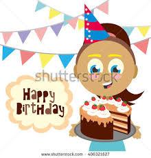 happy birthday happy birthday card birthday stock vector 406321633