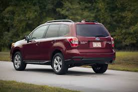 subaru forester red 2016 subaru forester choosing function over form wsj