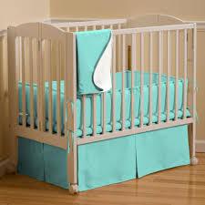 solid teal mini crib bedding carousel designs