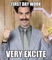 Last Day Of Work Meme - first day work fieldstation co