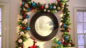 how to decorate with garland martha stewart living holiday