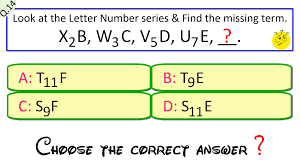 click how letter and symbol series question answer test