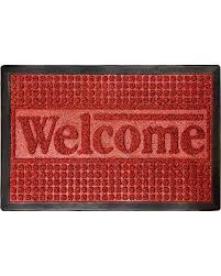 Patio Door Mat Deals On Door Mat Indoor Outdoor Welcome Mat Nonslip Rubber With