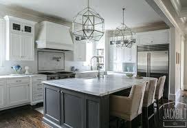gray kitchen island white cabinets gray island white and gray kitchen white kitchen with