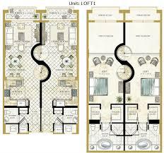 luxury loft floor plans open floor plans with loft 100 st regis bal harbour floor plans