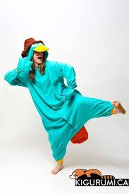 Perry Platypus Halloween Costume 21 Onsies Images Pajamas Onesies Animal