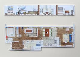 Hand Rendered Floor Plan Stefa Designs
