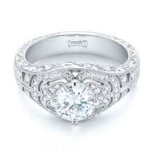 Vintage Style Wedding Rings by Vintage Engagement Rings Joseph Jewelry Bellevue Seattle