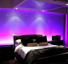 Romantic Blue Purple Bedroom Lighting Ideas Quecasita - Blue and purple bedroom ideas
