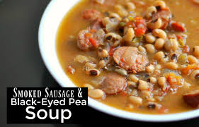 smoked sausage u0026 black eyed pea soup bee u0027s recipes