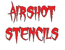 airbrush stencils skull stencils flame stencils multi layer