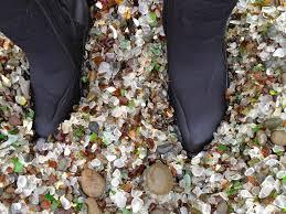 beach of glass glass beach in fort bragg california a sea glass lover s dream