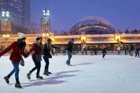city of chicago millennium park mccormick tribune rink