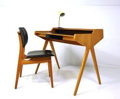 Small Desk With Chair Fabulous Mid Century Modern Desk Chair Small Mid Century Modern