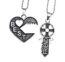 necklace best friend images Key puzzle best friend necklace 2 piece necklace bff jpg