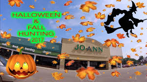 another halloween night at joann fabrics halloween u0026 fall hunting