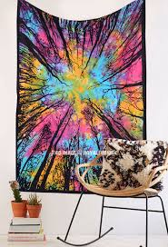 Thick Wall Tapestry Tie Dye Tapestries U0026 Printed Tapestries Wall Hangings Royal Furnish