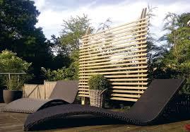 brise vue en bambou pas cher vue de terrasse