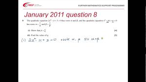 fmsp revision ocr fp1 roots of polynomials
