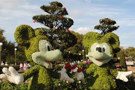 Mickey Mouse Topiary Mouseplanet Walt Disney World Resort Update By Mark Goldhaber