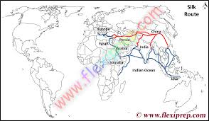 Map Route Maker by Ncert Class 10 History Solutions Chapter 4 The Making Of A Global