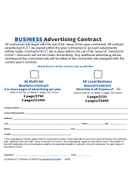 business contract template 6 free templates in pdf word excel