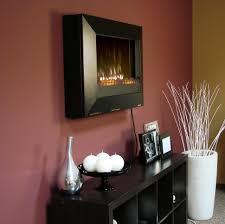 fire pit wall mount fireplace heater fire pit electric
