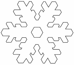 25 unique snowflake template ideas on paper snowflake