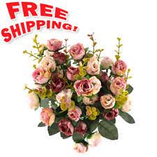 silk flower arrangements floral decor ebay