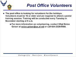 post office announcement here kadena post office