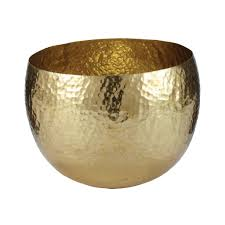 Home Decor Bowls Gold Hammered Brass Bowls Design By Lazy Susan U2013 Burke Decor